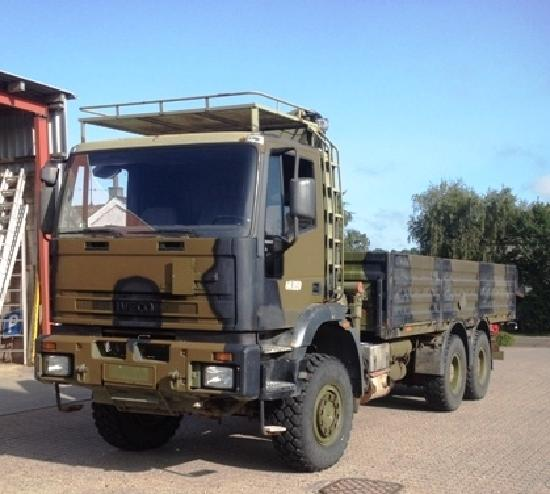Iveco 260E37 6x6 Kran, only 45.000Km