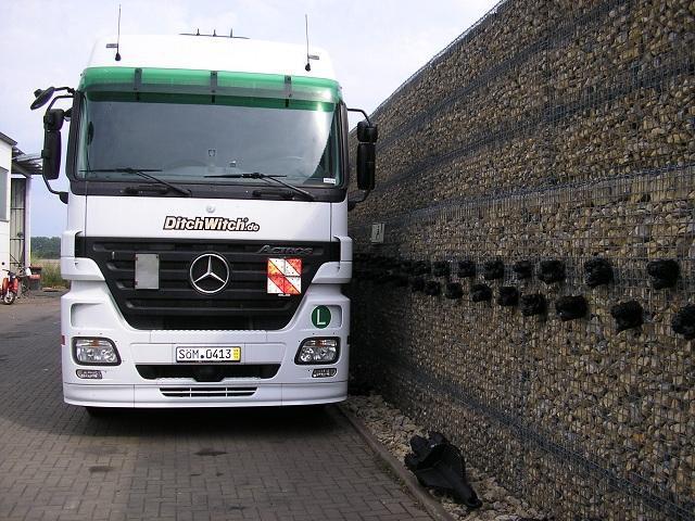 stroj za bušenje - vodoravni - Mercedes Benz Actros 2544 LL/ Megaspace