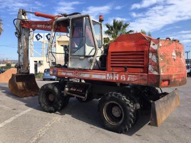 Excavadora de ruedas - O&K MH6 PMS