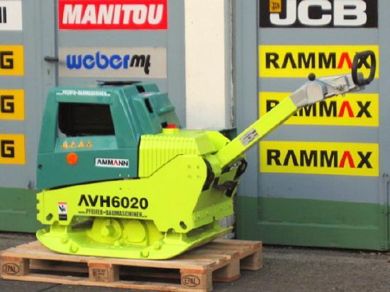 Ammann Rüttelplatte AMMANN AVH 6020/HATZ-Diesel vgl. 7010