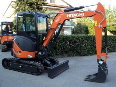 Mini-pelle - Hitachi ZX33U