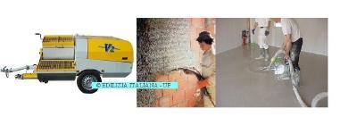 Divers - EDILIZIA ITALIANA-UF Rendering Machine / Pompa Intonacatrice / Egaline Spuitpomp - V2