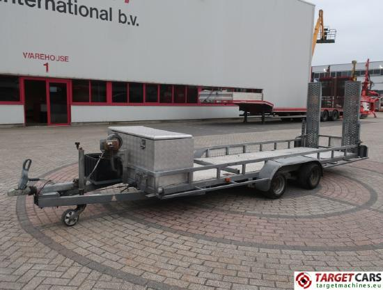 PTA-2703/L Machine Trailer for Worklift 2axle