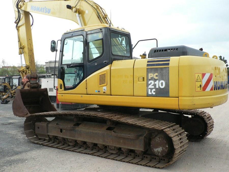 Excavator cu lanţ - Komatsu PC210-7