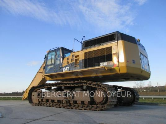 Tracked excavator - Caterpillar 374D
