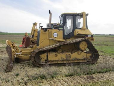 Бульдозер на колесном ходу - Caterpillar D5H II LGP