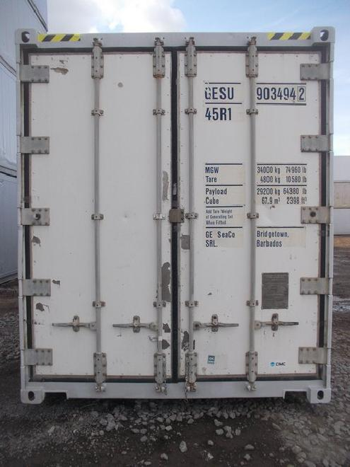 Ml2i 40'HC Kühlcontainer/ Reefer Carrier ML2i Bj2004