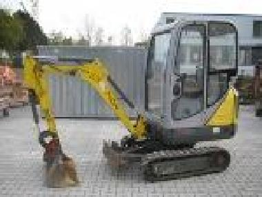 Mini excavator - Neuson 1404  Kabine