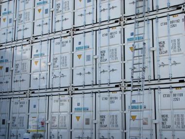 Materiálový kontejner - Containex Seecontainer 20' ONE WAY - nur ein Einsatz!
