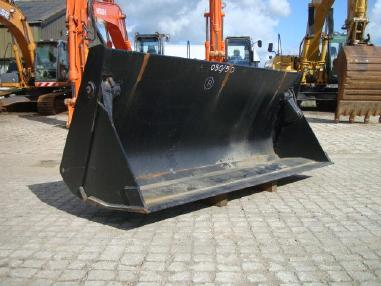 Baggerlader - Case 580 / 590    4in1 bucket