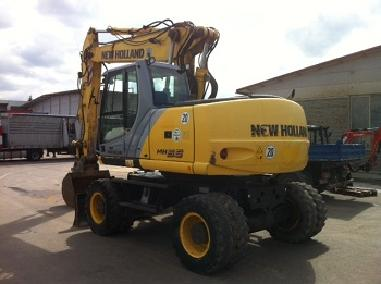 Mobile excavator - New Holland MH5.6