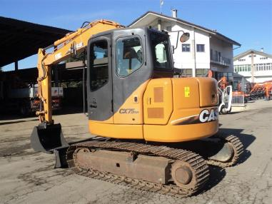 Tracked excavator - Case CX75SR