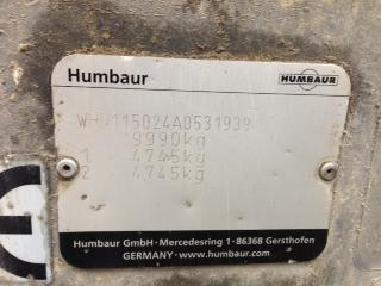 Trojstranný sklápěč - Humbaur Tandem 3-Seiten-Kipper