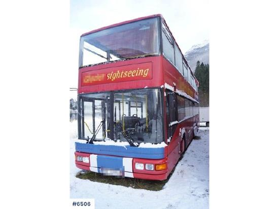 MAN A14 6x2 Double-deck sightseeing bus with roof open