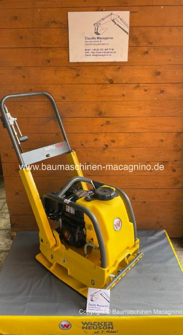 Wacker Neuson WPU 1550 Aw Rüttelplatte NEU