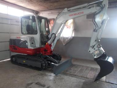 Mini excavator - Takeuchi tb235,2009,3148Bst,powertilt,3loffel,neue ketten