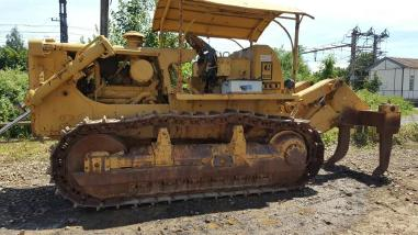 Wieldozer - Caterpillar D7G
