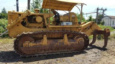 Kolový dozer - Caterpillar D7G