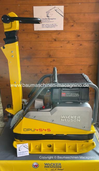Wacker Neuson DPU 4545 Heh Rüttelplatte NEU