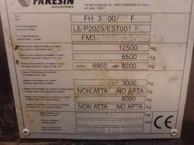 Teleskoplader - Faresin 17.40