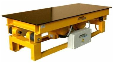 混凝土砌块模具 - Knauer Knauer Engineering Rütteltisch - Vibrating table
