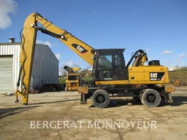 Mobile excavator - Caterpillar M322D MH