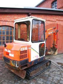 Mini-pelle - Pel Job EB 16 Minibagger excavator 1100h Hammerhydraulik