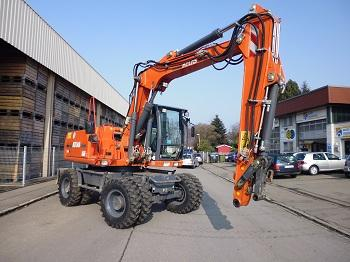 Mobile excavator - Atlas 160W