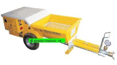 Altro - EDILIZIA ITALIANA-UF Mortar Pump / Pompa Intonacatrice / Egaline Pomp - VARIO