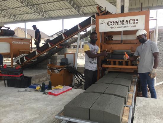 BlockKing-09MS / Concrete Block Making Machine