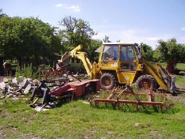 Backhoe loader - Kramer 416s