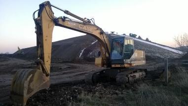 Excavator cu lanţ - Case 1188