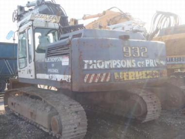 Tracked excavator - Liebherr R 932 DSL litron