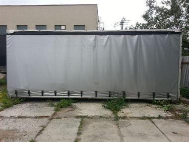 Skrzynia ładunkowa plandeka - MAN Aufbau