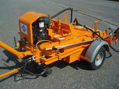 Maşină de pulverizat asfalt - Ebeling ST 300 SF