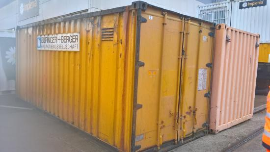 20' Materialcontainer/ Magazincontainer
