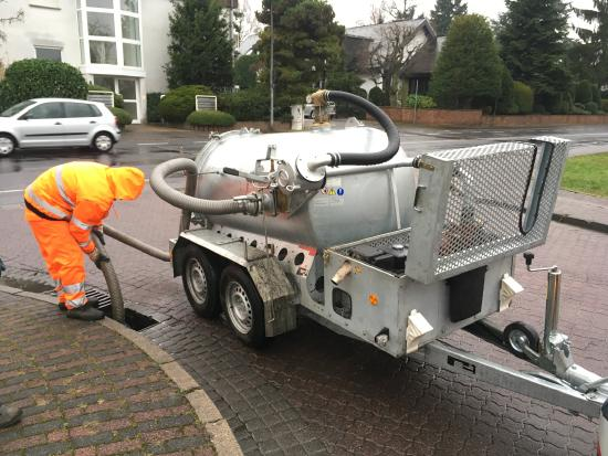 M-Vac 1500 / vacuum system for absorb mud and liquids
