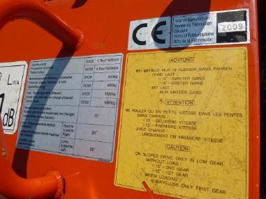 Dúmper sobre orugas - Canycom Canycom BFK 709 Raupendumper