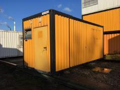 20' Sanitärcontainer [X318000005] Sanitärcontainer 2,5x6,0 m; inkl. 4x WC, 1x Urinalrinne, 5x Waschplätze