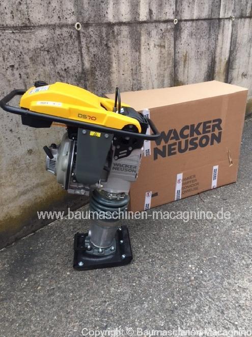 Wacker Neuson DS 70 Diesel-Stampfer NEU/NEW