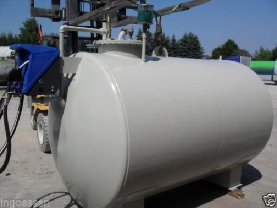 Dieseltankstelle 7.000 Liter doppelwandig gebraucht