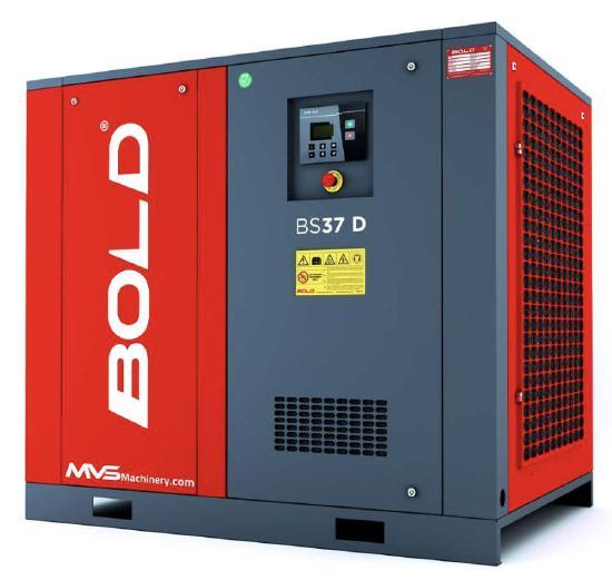 MVS Machinery Direct Coupling Screw Air Compressors
