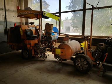 stroj za obilježavanje ulica - Hofmann H26