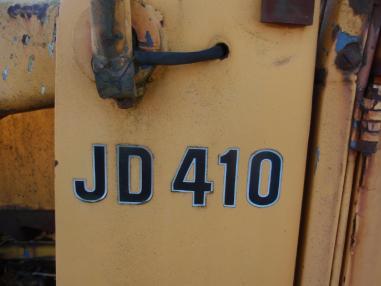 Backhoe loader - John Deere 410D