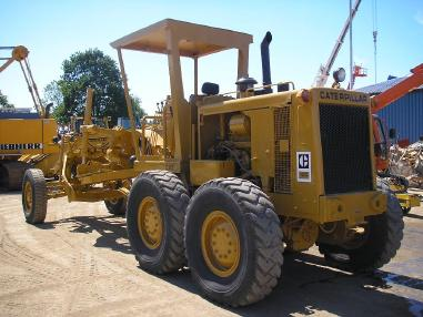 Грейдер - Caterpillar CAT 12G _ 1980