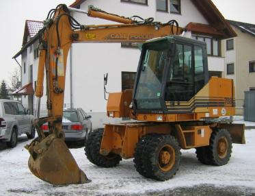 Mobile excavator - Case 788 PL