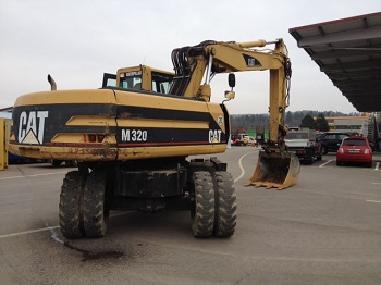 Miniexcavator - Caterpillar M320D