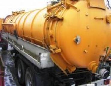 Цистерна вакуумная - Разное Kutsche Vakuumfass
