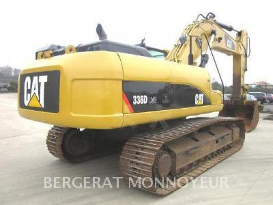 Zincirli ekskavatör - Caterpillar 336DL