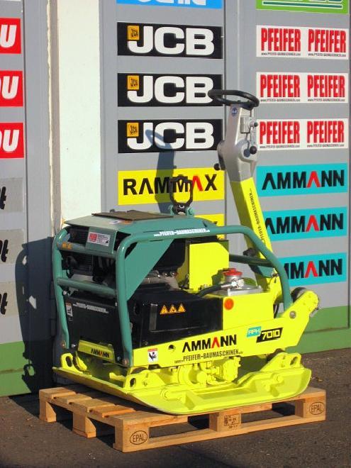 Ammann Rüttelplatte AMMANN APH 7010 / 715 kg / HATZ-Diese
